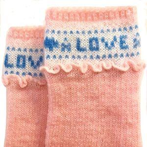 ⭐️ Vintage KAWAII Pink Love Socks
